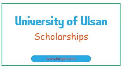 University of Ulsan Scholarships