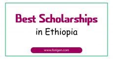 Best Scholarships in Ethiopia