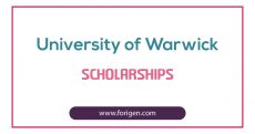 University of Warwick Scholarships