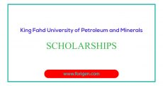 King Fahd University of Petroleum and Minerals Scholarships