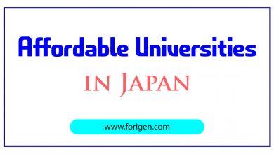 Affordable Universities in Japan