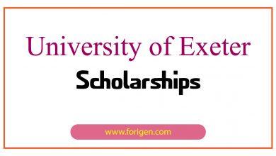 University of Exeter Scholarships