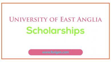 University of East Anglia Scholarships