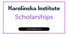 Karolinska Institute Scholarships