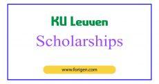 KU Leuven Scholarships