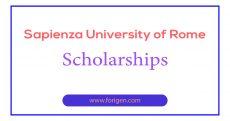 Sapienza University of Rome Scholarships