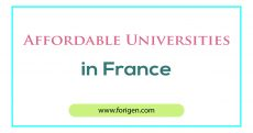 Affordable Universities in France