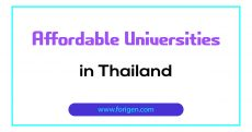 Affordable Universities in Thailand
