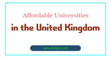 Affordable Universities in the United Kingdom