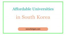 Affordable Universities in South Korea