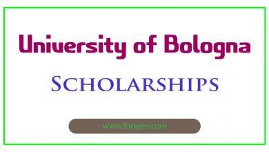 University of Bologna Scholarships